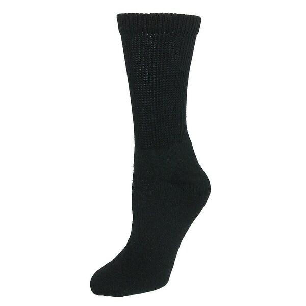 CTM® Women's Diabetic Crew Socks (3 Pair Pack)