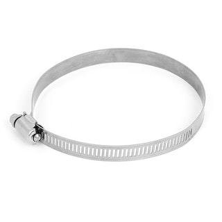 91-114mm Stainless Steel Adjustable Drive Hose Clamp Fuel Line Worm Clip