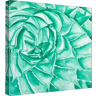 "PTM Images 9-99069  PTM Canvas Collection 12"" x 12"" - ""Desert Floral II"" Giclee Succulents Art Print on Canvas"