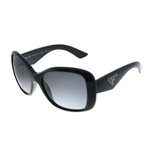 Link to Prada Heritage PR 32PS 1AB5W1 Womens Black Frame Grey Gradient Polarized Lens Sunglasses Similar Items in Women's Sunglasses