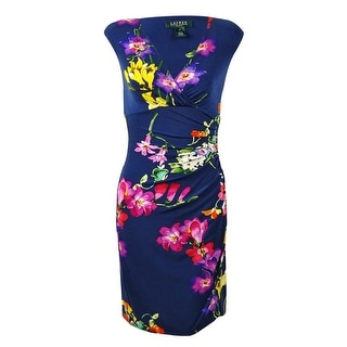 Lauren Ralph Lauren Women's Jersey Floral Dress