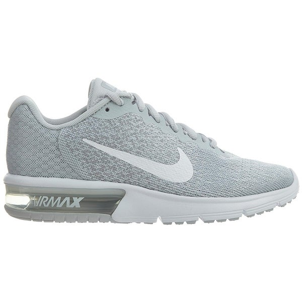 Shop Nike Air Max Sequent 2 Pure PlatinumWhiteWolf Grey