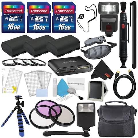 Mega Accessories Kit for Canon Rebel T6s Camera