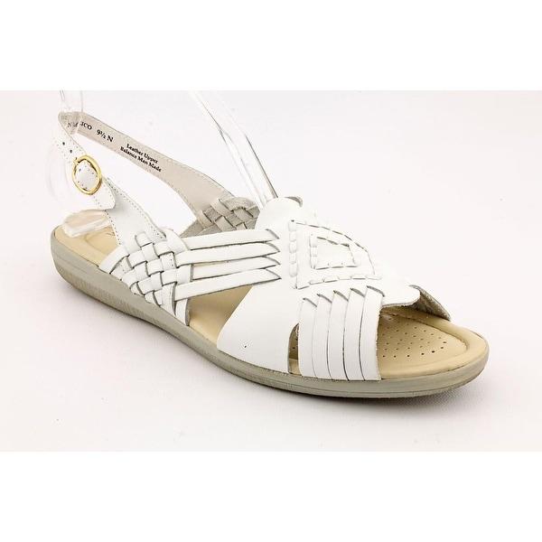 Softspots Tela Women White Sandals