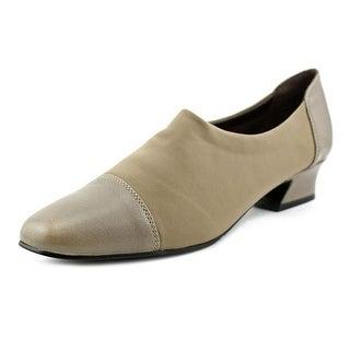 David Tate Marina Square Toe Synthetic Heels