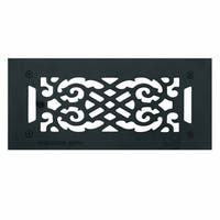 Floor Heat Register Louver Vent Cast 4 x 10 Duct