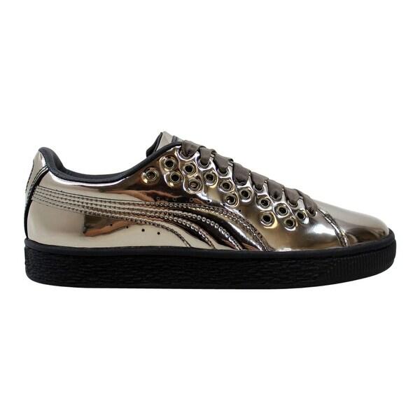 Shop Puma Basket XL Lace Metal Puma Black 364536 01 Women's
