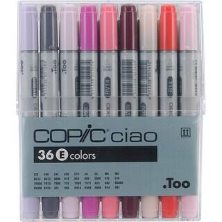 Copic Ciao Markers 36pc Set-Set E - set e