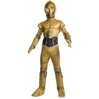 Kids Star Wars C-3PO Halloween Costume