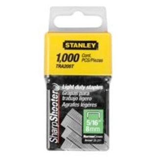 "Stanley TRA205T Light Duty Staple 5/16"", 1000/Pack"