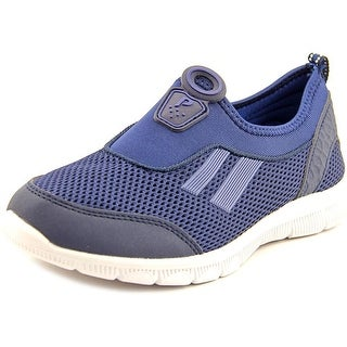 Dream Pairs 4257 Youth Round Toe Synthetic Blue Sneakers