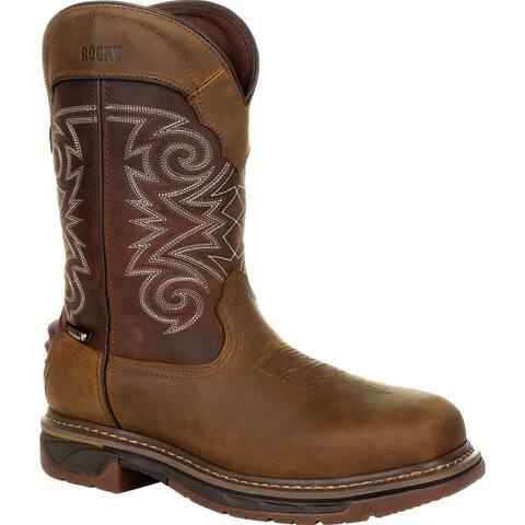 Rocky Iron Skull: Men's 600G Insulated Comfortable Pull-On Western Boot