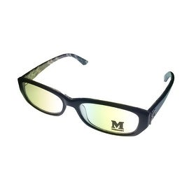 Missoni Opthalmic Eyeglass Mens Modifed Rectangle Black Plastic MM 007