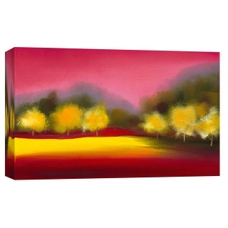 "PTM Images 9-101931  PTM Canvas Collection 8"" x 10"" - ""Raspberry Contemplation"" Giclee Forests Art Print on Canvas"
