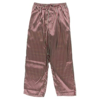 Alexander Del Rossa Mens Sleep Pant Satin Button Fly - M