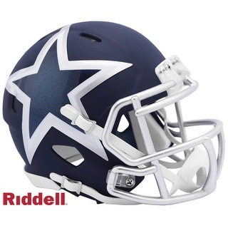 Dallas Cowboys AMP Alternate Series Riddell Speed Mini Football Helmet