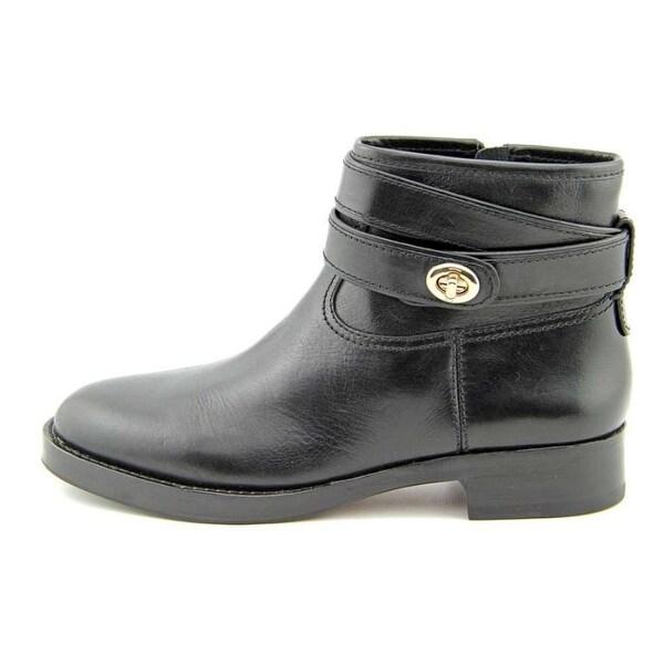 Coach Womens Elton Calf Almond Toe Knee High Fashion Boots