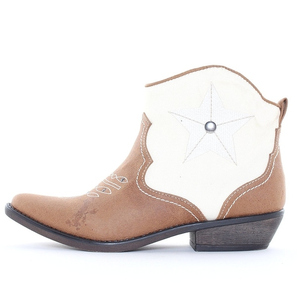 American Rag Womens Randey Closed Toe Ankle Cowboy Boots