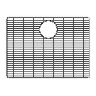 """Houzer 629704 Wirecraft 14-11/16""""L x 18-7/8""""W Stainless Steel Kitchen Sink Basin Rack - STAINLESS STEEL"""
