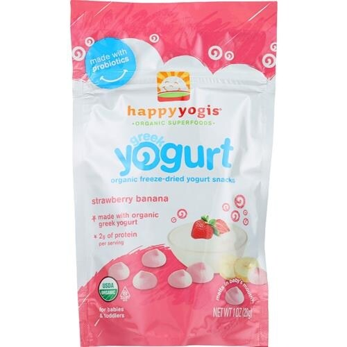 Happy Family - Greek Yogurt Strawberry Banana Melts ( 8 - 1 OZ)