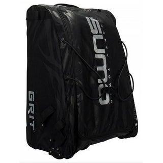 "Grit Inc GT4 Sumo Hockey Goalie Tower 36"" Wheeled Equipment Bag Black GT4-036-B - 36''h x 26''w x 18''d"