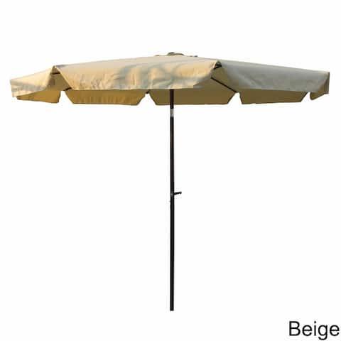 International Caravan St. Kitts All-Weather 10-foot Patio Umbrella