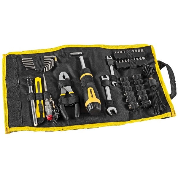 shop tradespro 54 piece rolling pouch auto tool kit mechanic tool set 837917 ships to canada. Black Bedroom Furniture Sets. Home Design Ideas