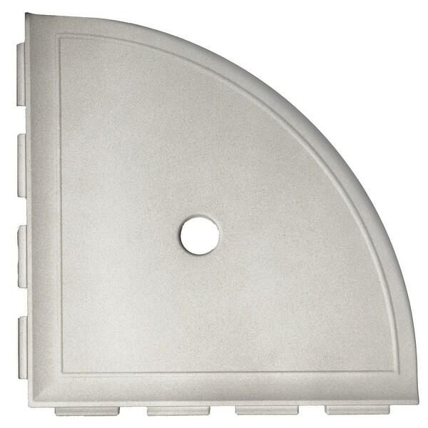 "Daltile BA680 9-1/8"" Wide Corner Shelf from the Bath Accessories Collection"
