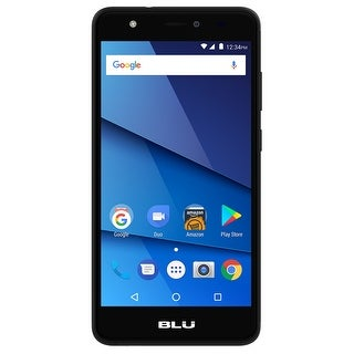 BLU Studio J8 LTE S0351WW 16GB Unlocked GSM Dual-SIM Phone w/ 8MP Camera - Black