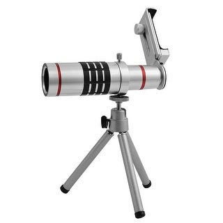 Telescope 18x Optical Telephoto Lens Kit Tripod for Universal Mobile Phone