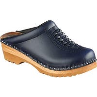 Troentorp Bastad Clogs Women's Wright Navy
