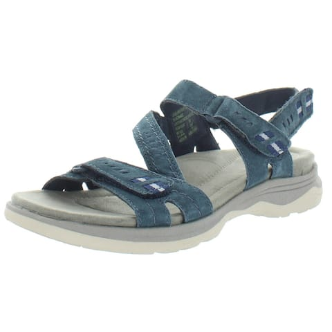 Earth Womens Higgins Holland Sport Sandals Suede Strappy