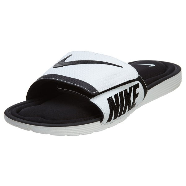 sports shoes e6440 25ace Nike Mens SOLARSOFT COMFORT SLIDE