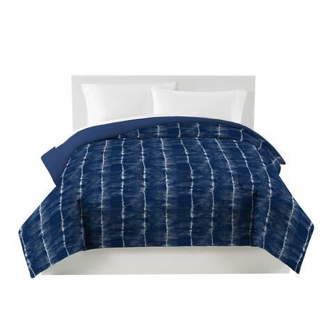 Utica Tie Dye Blue Comforter