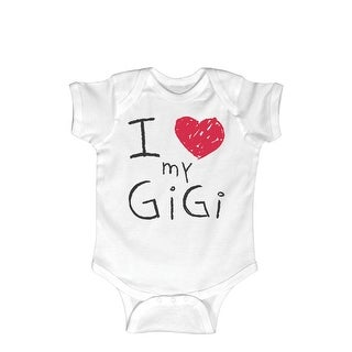 I (Heart) Gigi Scribbled-Infant One Piece Mother's Day