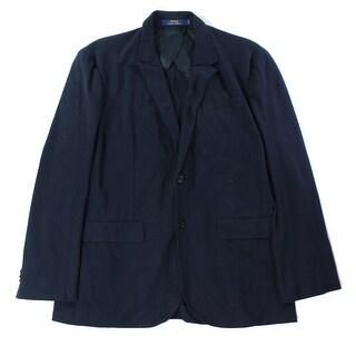 Lauren By Ralph Lauren NEW Blue Mens Size Small S Two Button Blazer