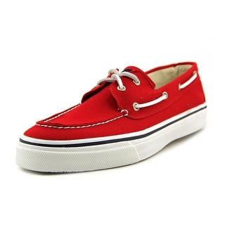 Sperry Top Sider Bahama 2-Eye Varsity Moc Toe Canvas Boat Shoe