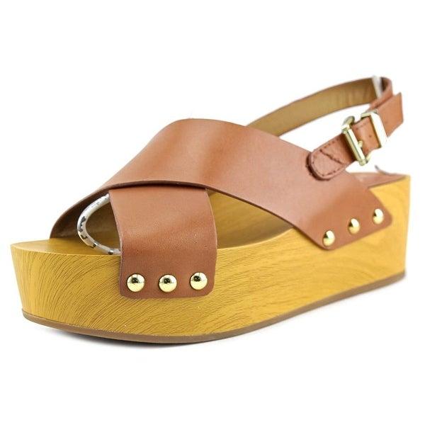 Sam Edelman Bentlee Women Open Toe Leather Brown Sandals