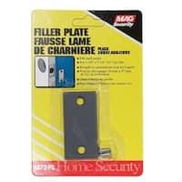 Prime-Line U 9521 Gray Plated Door Filler Plate