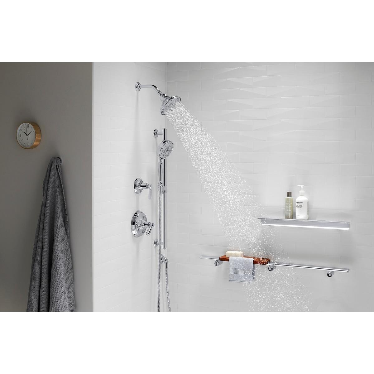 Kohler K 22167 Bancroft 2 5 Gpm Multi Function Shower Head