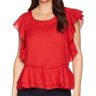 d6b7f51cfc625c Size XS Red Tops | Find Great Women's Clothing Deals Shopping at Overstock
