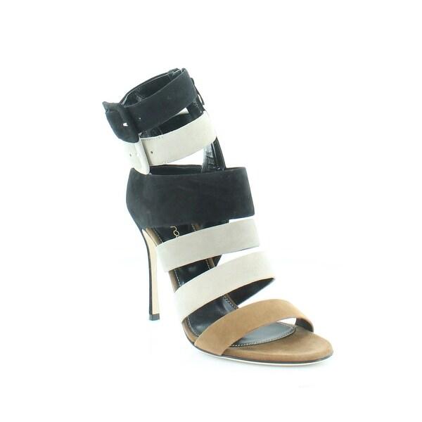 Sergio Rossi Zebra Women's Heels Black