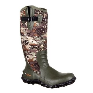 Rocky Outdoor Boots Mens Core Rubber Waterproof Camo RKS0317
