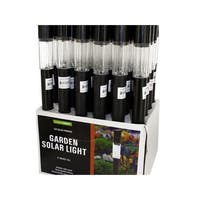 Bulk Buys  Solar LED Garden Light Countertop Display - 24 Piece