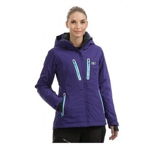 Helly Hansen Women's W Motion Winter, Waterproof Breathable, Jacket - Purple