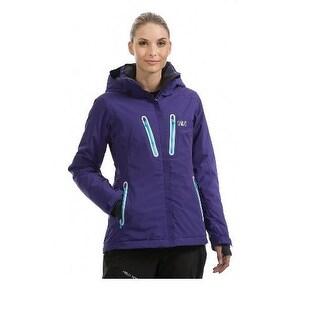 Helly Hansen Women's W Motion Winter, Waterproof Breathable, Jacket - Purple