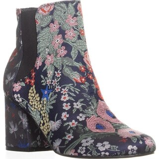Indigo Rd. Veraly Pull On Ankle Boots, Navy Multi - 6.5 us