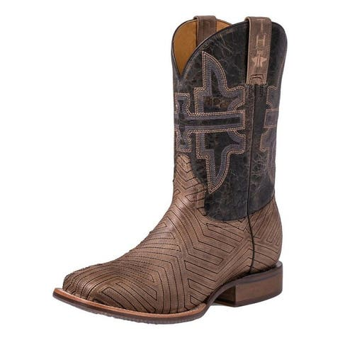 Tin Haul Western Boots Mens Rowdy American Rodeo