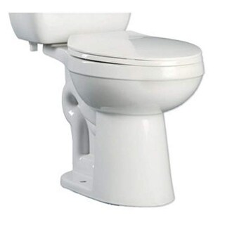 ProFlo PF9800 Ultra High Efficiency 0.8 Two-Piece Round ADA Height Toilet Bowl -