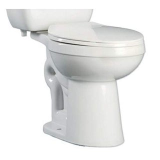 ProFlo PF9803 Ultra High Efficiency 0.8 Two-Piece Elongated ADA Height Toilet Bo